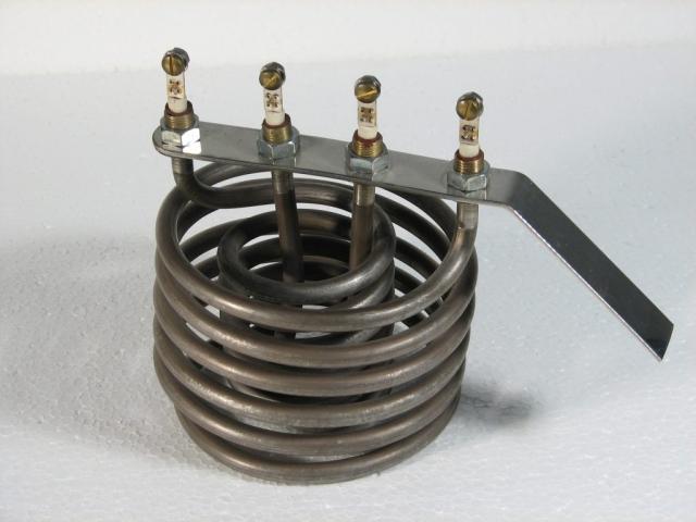 Cijevni grijač za zagrijavanje zraka sa prisilnom ventilacijom