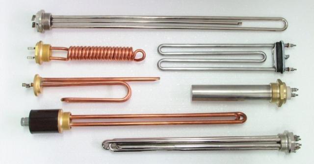 Ugradbeni grijači sa raznim vrstama prirubnica i zaštitom priključka